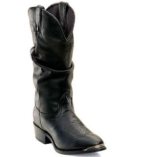 Womens DURANGO Black Slouch Western Boots RD540