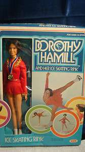 Dorothy Hamill and her ice skating rink