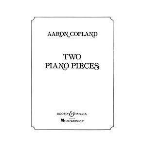 Two Piano Pieces Composer Aaron Copland