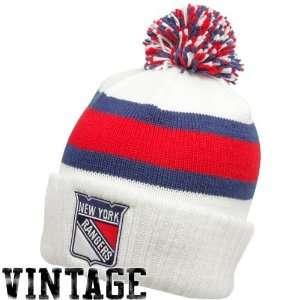New York Rangers Vintage Reebok Classics Cuffed Knit Hat w
