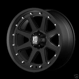 17 XD SERIES XD798 ADDICT XD SERIES Black OFFROAD Truck Wheels RIMS