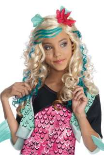 Monster High Lagoona Blue Costume Child Wig 52573