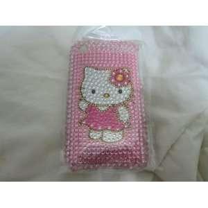 #32 Studded Slim Rhinestone Hello Kitty Iphone 2g 3g 3gs