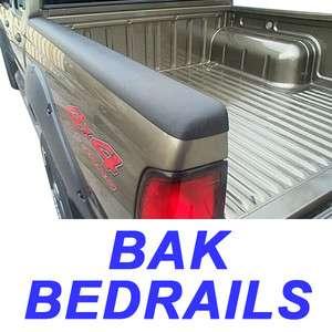 Bak ProCap Bedrail Bed Rail Cap Plastic 78in w/o Holes 819275000239