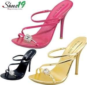 SEXY Women HIGH HEEL Evening Dress SANDAL Shoes Gold