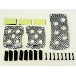 JDM Universal Real Carbon Fiber Racing Pedals Manual M/T