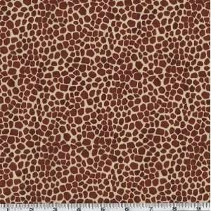 45 Wide Wild Animal Print Giraffe Fabric By The Yard