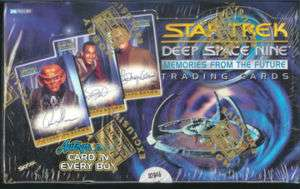 Star Trek DS9 MFTF Trading Cards Box SEALED