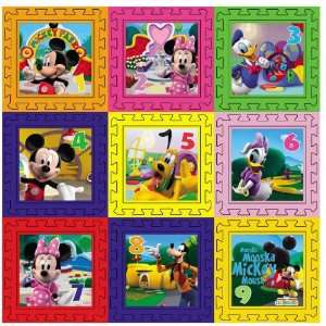 Disney Mickey Minnie Googy Donald duck Foam Floor Puzzle Mat Soft play