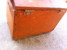 Vintage Antique Dupont Shell Ammo Shipping Crate Wood Wooden Box Chest