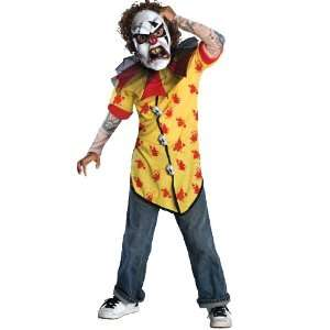 Rubies Horrorland Clown Screamer Child Costume Small Toys