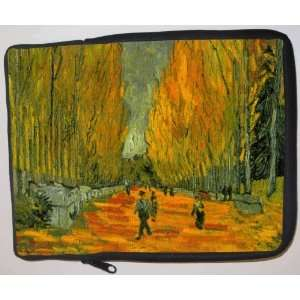 Van Gogh Art Alyscamps Laptop Sleeve   Note Book sleeve