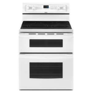 Resource Saver(TM) Double Oven Freestanding Electric Range Kitchen