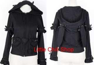 BABY CutePUNK DOLLY gothic Lolita Hoodie Heart Jacket B