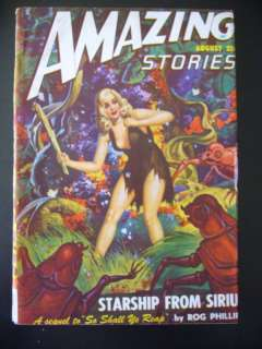 Amazing Stories Aug 1948 Pulp Magazine