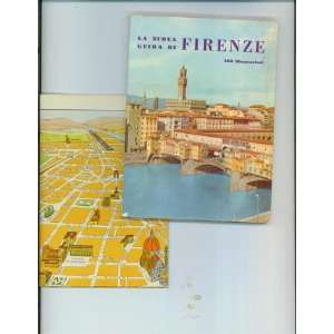 De Firenze & Map of Florence, Italy Eduardo Bonici  Books