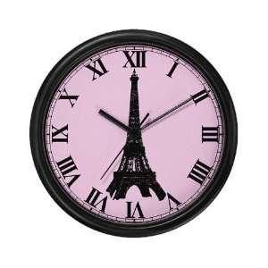 Paris   Eiffel Tower Paris Wall Clock by