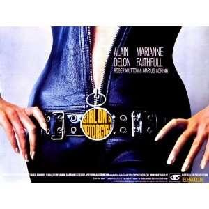 36cm) (1968) Style A  (Alain Delon)(Marianne Faithfull)(Roger Mutton