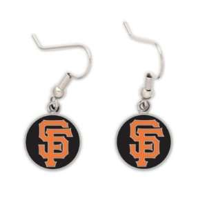 SAN FRANCISCO GIANTS OFFICIAL LOGO FRENCH LOOP EARRINGS