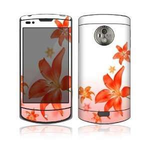 Flying Flowers Design Protective Skin Decal Sticker for LG