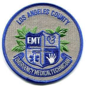 LOS ANGELES COUNTY CALIFORNIA   EMT   FIRE   EMS   AMBULANCE   PATCH