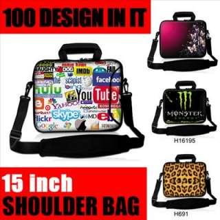 Shoulder Bag Case Sleeve For 15.6 Dell Inspiron/HP Pavilion