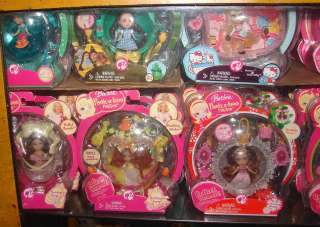 74 Barbie Peek A Boo Petites MIP Dolls Playsets & More
