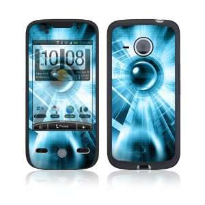Abstract Blue Tech Protective Skin Cover Decal Sticker for