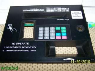 Esco GAS PUMP Keypad Assembly & Display. Credit Card