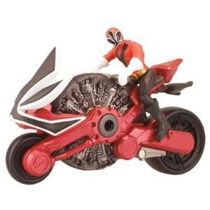 Power Rangers Samurai Disc Cycle and Figure Toys & Games