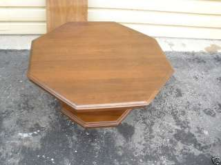 46317 ETHAN ALLEN SHEFFIELD Cherry Coffee Table Stand