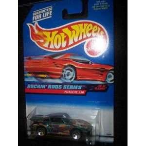 Rockin Rods Series #4 Porsche 930 5 Hole 98 Card #572 Mint