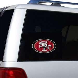 San Francisco 49ers Die Cut Window Film