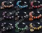 Heart Glass Bead Bracelets items in glass world