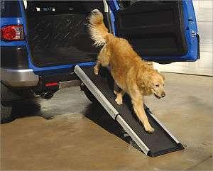 Herzhers Telescoping Large Pet Dog Cat Smart Ramp 852185001170