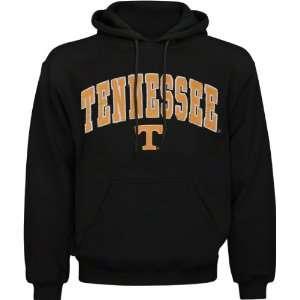 Tennessee Volunteers Black Acid Washed Mascot Hooded Sweatshirt