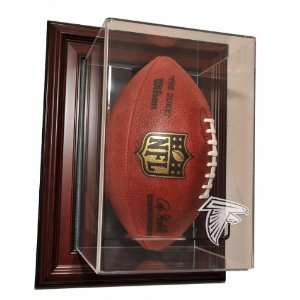 Atlanta Falcons Vertical Football Case Up Display