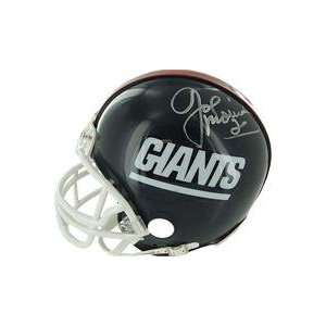 Joe Morris autographed Football Mini Helmet (New York