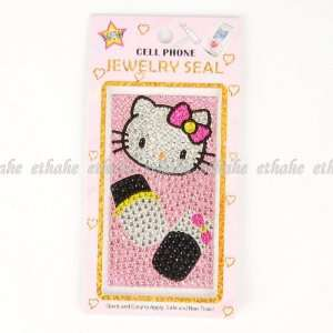 Hello Kitty Shining Mobile Phone Skin Sticker Cell Phones