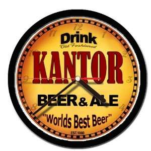 KANTOR beer and ale cerveza wall clock: Everything Else