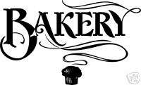 Bakery Pastry Dessert Food Advertisement Decal Sign 14