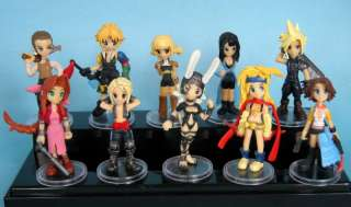 Final Fantasy Japan anime action figure toy Lot set of 10pcs new