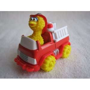 Matchbox 1997 Big Bird in Fire Truck Everything Else