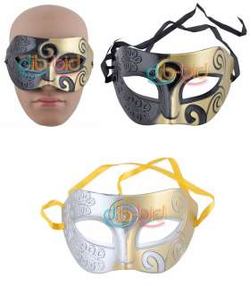 Charm Metal Fancy Dress Cool Men Eye Mask Style Halloween Masquerade