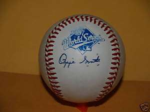 Cardinals Ozzie Smith 1987 World Series Signed Baseball