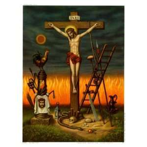 Das Leiden Christi   Poster (8 x 10): Home & Kitchen