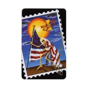 Collectible Phone Card 25u Grateful Dead One Dead Cent Gary Kroman