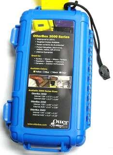 OTTERBOX 3000 14 Waterproof Case DryBox(Blue)for camera/phone/keys/GPS