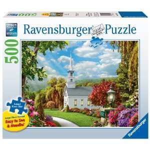 Ravensburger Inspiration   500 Pieces Large Format Puzzle