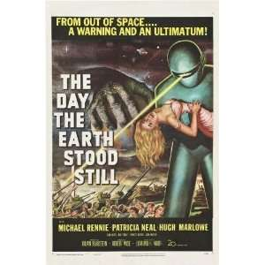 Day The Earth Stood Still Movie Poster #01 24x36